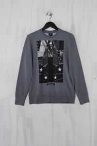 H&M -  sweatshirt  mit print - S