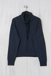 CLOSED -  sweatshirt  mit schalkragen - M