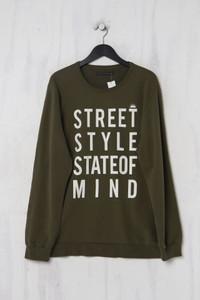 PIAZZA ITALIA -  sweatshirt  mit statement-print - XXL