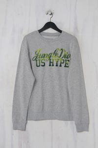 Angelo Litrico C&A - basic- sweatshirt  mit print - L