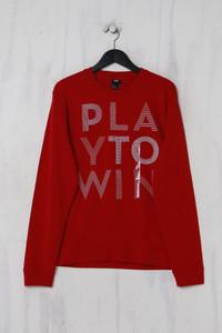 H&M -  sweatshirt  mit statement-print - L