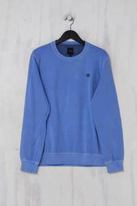maddison -  sweatshirt  mit logo-stickerei  aus baumwolle - L