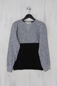 H&M LOGG - colour blocking- sweatshirt  aus baumwoll-mix - S