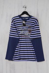 RACHAS & ABREU - streifen- sweatshirt  mit print - XL
