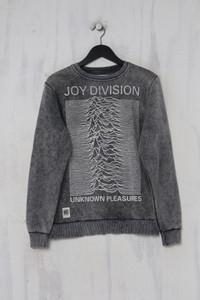 Worn By - garment dyed- sweatshirt  mit print  aus baumwolle - S