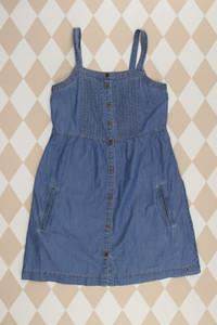 TOMMY HILFIGER - jeans- kleid  mit biesen - 176