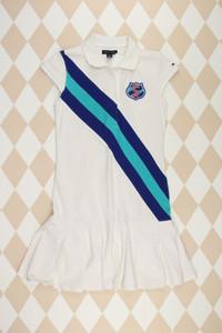 TOMMY HILFIGER -  kleid  mit stickereien - 158
