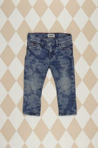 TOMMY HILFIGER - muster- jeans  - 80