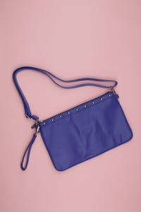 carpisa - faux leather- crossbody bag/tasche  mit nieten - ONE SIZE