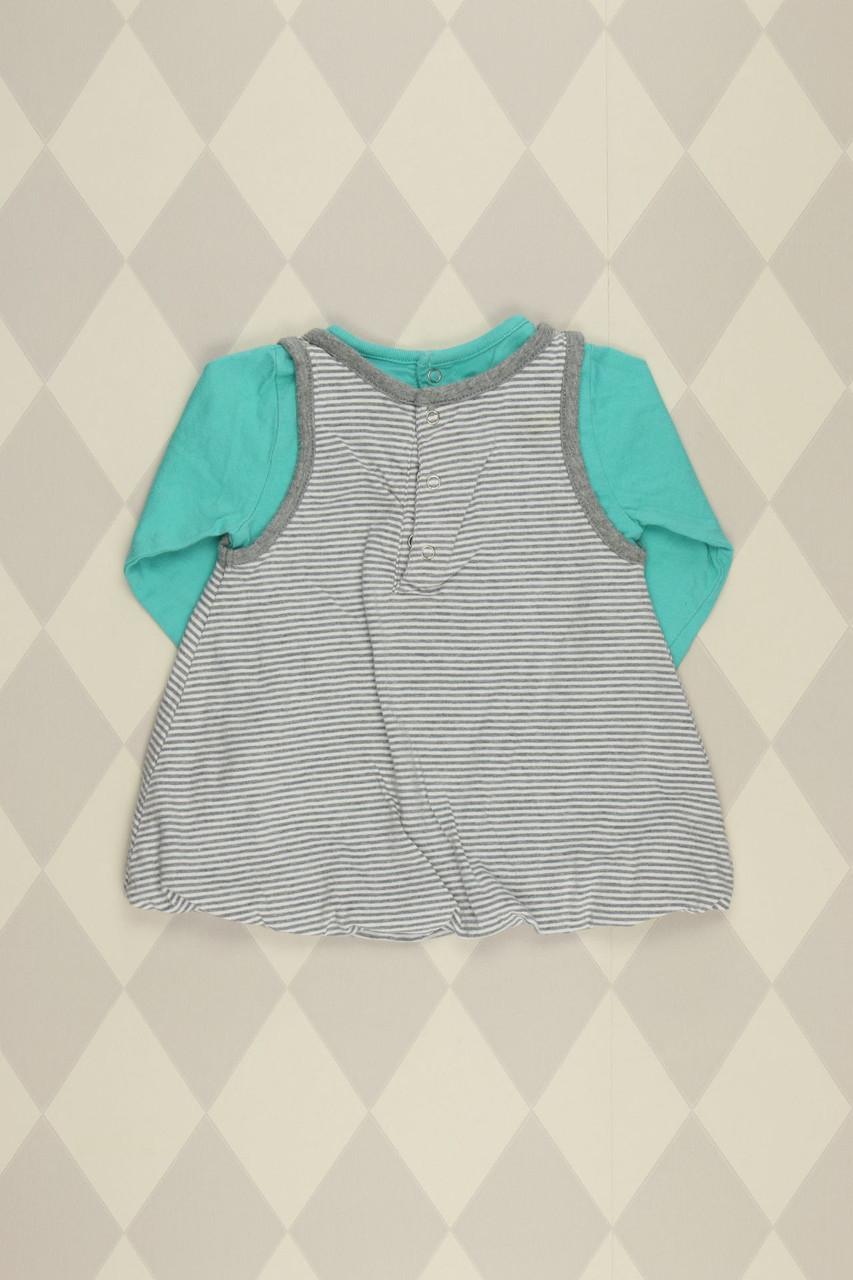 details zu naturaline t-shirt d 68 hellgrau top mädchen kinder