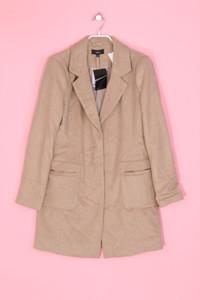 zebra - blazer-mantel mit wolle - M