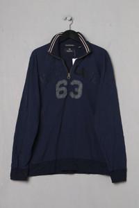 SCOTCH & SODA - zipper-sweatshirt aus baumwolle mit applikationen - XL