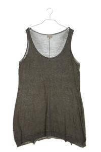 NILE - garment dyed-ärmelloses top - L