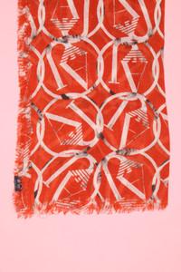 ARMANI JEANS - schal mit logo-print -