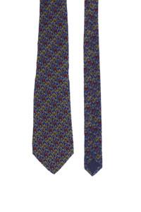 Nina Ricci - seiden-krawatte mit floralem muster -