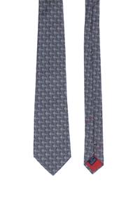 BALLY - karo-seiden-krawatte -