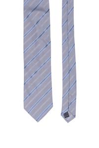 PAL ZILERI - seiden-krawatte mit streifen -