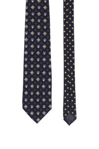 Gianni Versace - seiden-krawatte mit logo-print -