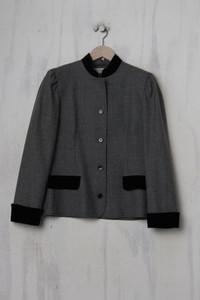 Givenchy 5 - blazer-jacke mit raffungen - D 42