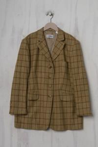 DINOMODA - schurwoll-,vintage- blazer mit kaschmir - D 44