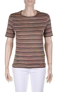 MISSONI SPORT - shirt aus baumwoll-mix mit streifen - D 36