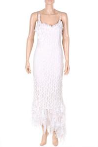 Ohne Label - 20s-kleid mit perlen - M