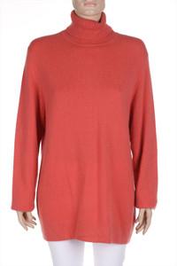 JJB BENSON 100% CASHMERE - strick-pullover aus 100% kaschmir mit rollkragen - L