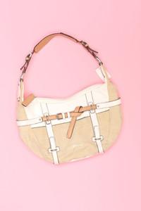 GUESS - handtasche mit logo-plakette -