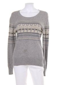 GLOBUS ESSENTIALS - norweger-strick-pullover aus 100% kaschmir - M