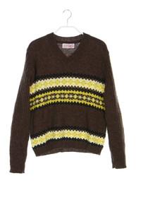 STEFANEL - norweger-strick-pullover - M