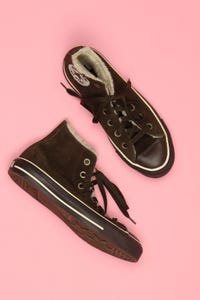 CONVERSE - high-top sneakers mit logo-applikation -