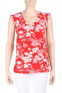 CAROLL - bluse aus viskose mit floralem muster - D 36