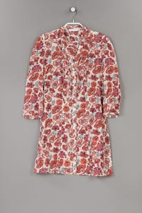 promod - long-bluse mit floralem muster mit 3/4-ärmel - D 36-38