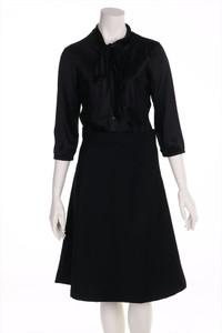 Nolita - kleid aus seiden-mischung mit schleife - D 38