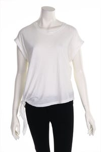DRYKORN FOR BEAUTIFUL PEOPLE - knoten-shirt mit asymmetrischem schnitt - M