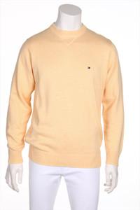 TOMMY HILFIGER - pullover aus baumwolle mit logo-stickerei - S