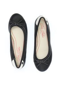 TOM TAILOR - faux leather-ballerinas mit schleife -