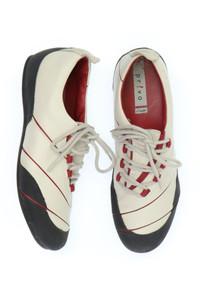 Clarks - low-top sneakers aus echtem leder -
