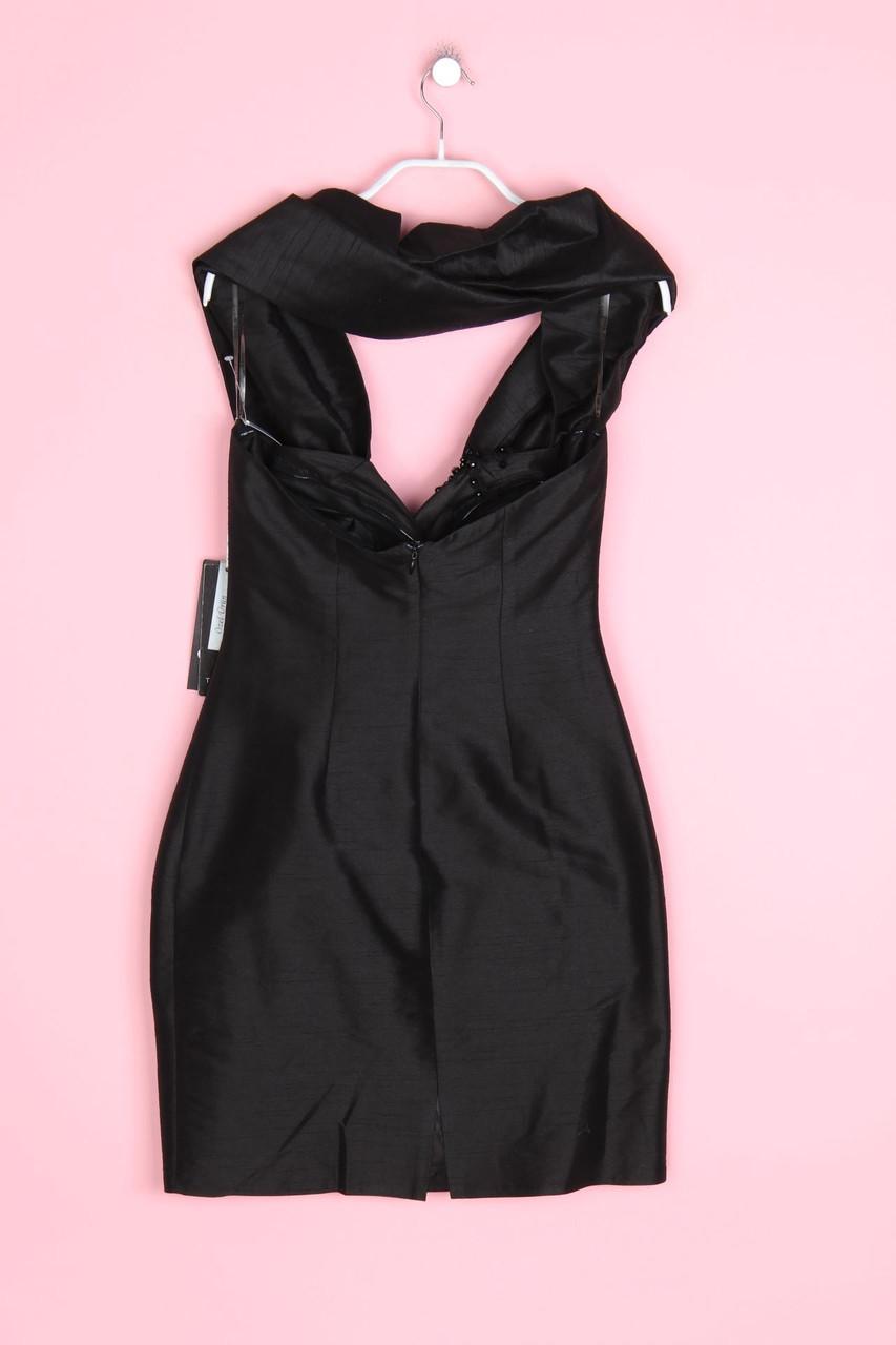 details zu tarik ediz bustier-kleid likationen d 36 schwarz party dress