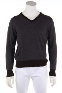 TOMMY HILFIGER - pullover aus wolle mit streifen - M