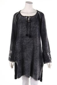 Grace - strick-pullover mit kaschmir mit stickereien - XL
