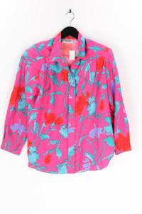 Portland models - 80s- bluse mit blumen-print - D 40-42