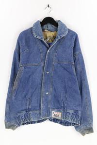 SPORT 21 JEANS - jeans-jacke mit logo-patch - XL