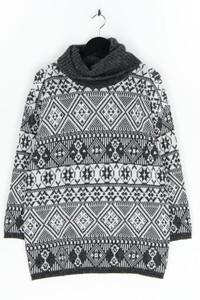 C&A - norweger-strick-pullover mit perlen - M