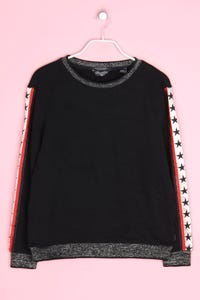 MAISON SCOTCH - oversize-sweatshirt mit stickereien - S