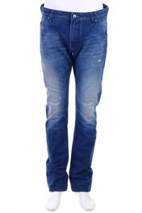 Diesel Industry - distressed slim-jeans mit logo-patch - W32