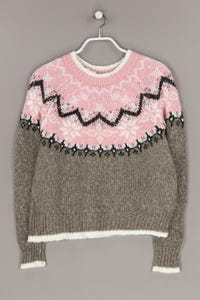 Clockhouse by C&A - norweger-strick-pullover mit wolle - L