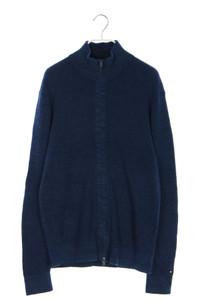 TOMMY HILFIGER - zipper-cardigan aus baumwolle - M