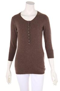 CASHMERE COLLECTION - strick-pullover aus 100% kaschmir mit 3/4-ärmel - S