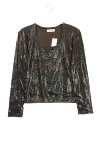 GERARD DAREL - longsleeve-shirt mit metallic-effekt - M